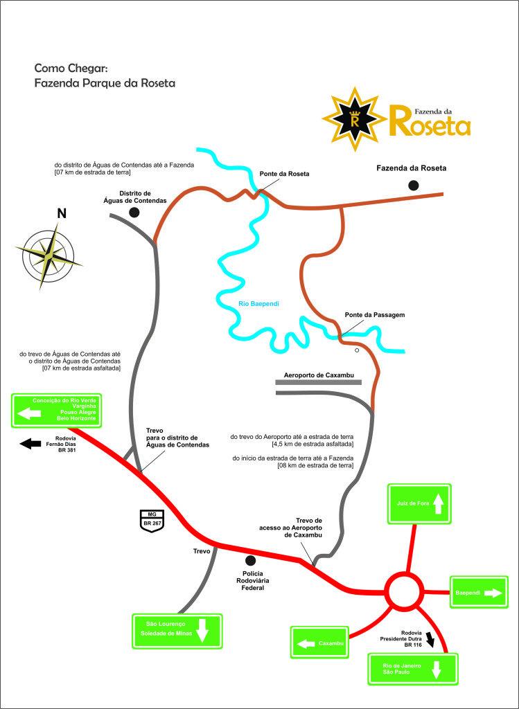 Mapa para roseta