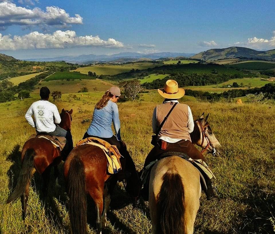 o que é uma viagem a cavalo
